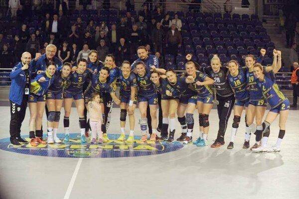 Michalovské hádzanárky v predstihu vyhrali medzinárodnú MOL ligu.