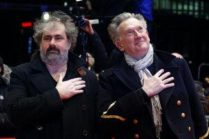 Francúzski režiséri Gustave Kervern a Benoit Delépine.