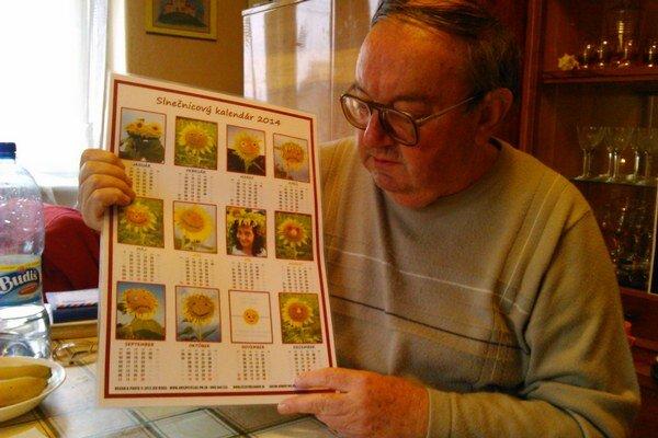 Jána Ridega fascinovali slnečnice od detstva.