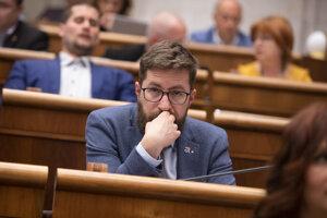 Poslanec parlamentu Martin Poliačik.