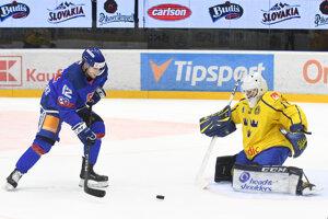 a519803b438ed Pozrite si najlepšie momentky z prípravného zápasu Slovensko - Švédsko (12  fotografií)