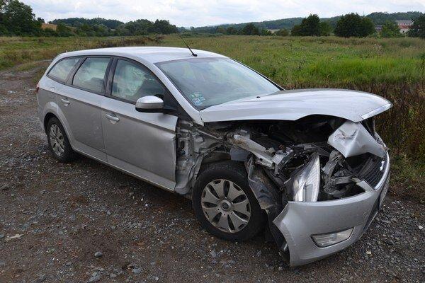 Škodu na vozidle predbežne odhadli na päťtisíc eur.