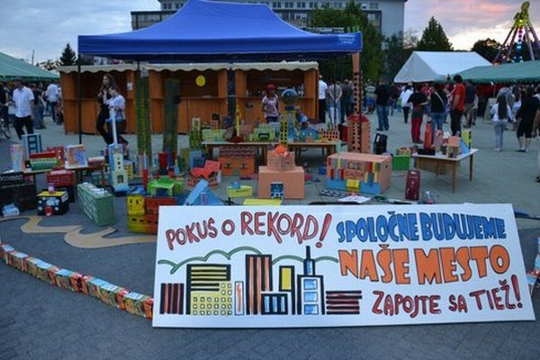 Projekt mal za úlohu spojiť ľudí a dať im aj takto priestor, aby ukázali, čo im v meste chýba.