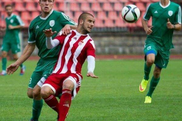 Milan Nikolič ešte v drese banskobystrickej Dukly.
