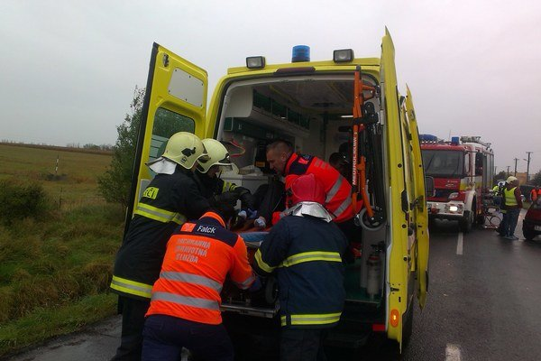 Eriku do nemocnice odviezli vo vážnom stave.