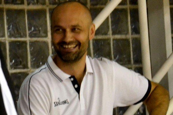 Michal Tarabus, tréner prvoligistov MBK Lučenec.
