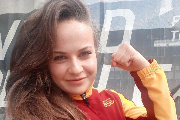 Dorota Balciarová skončila trinásta.
