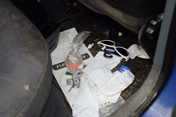 Polícia zaistila množstvo heroínu.