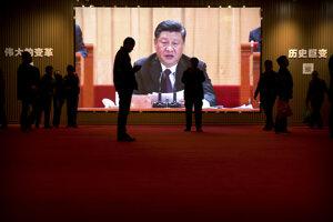 Prejav čínskeho prezidenta Si Ťin-pchinga.