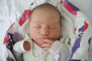 Terézia Prekopová (3660 g, 52 cm) sa narodila 2. apríla Zuzane a Jurajovi z Pruského.