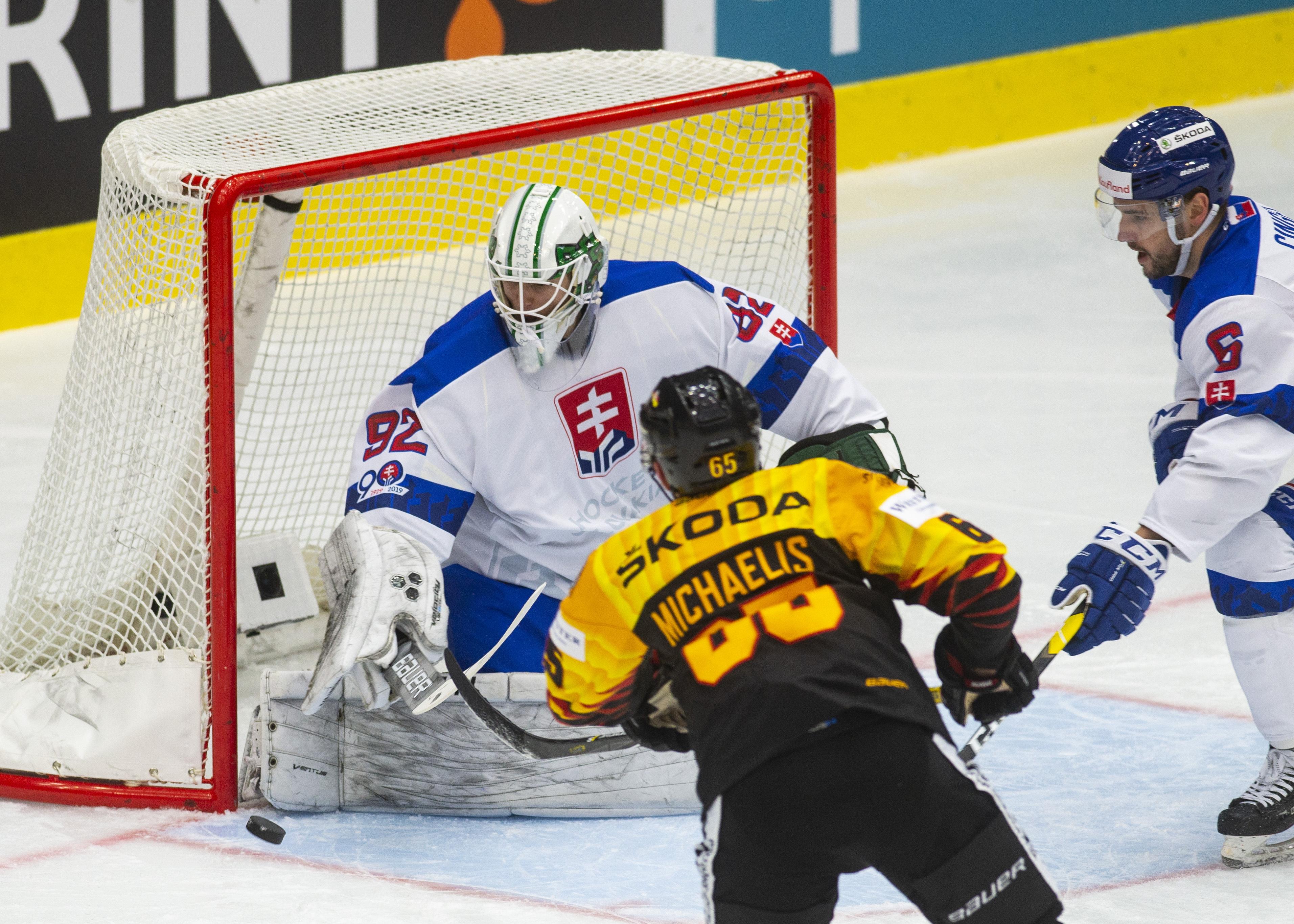 4fccf1782fc12 Nemecko : Slovensko - Online prenos - 2. prípravný zápas - MS v hokeji 2019  - Šport SME
