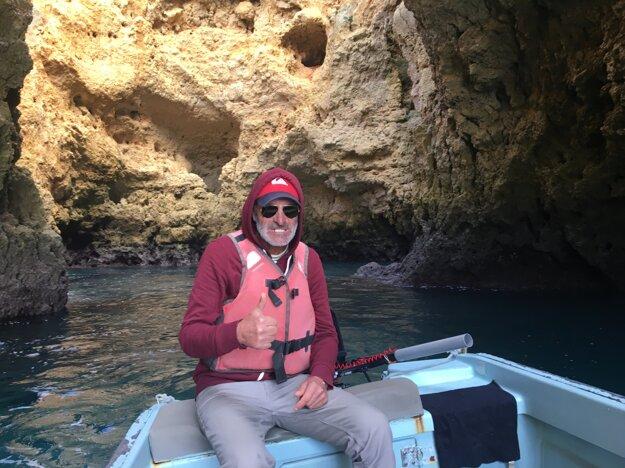 António, náš sprievodca lagoskými jaskyňami