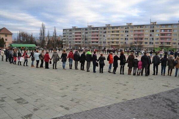 Učitelia protestom odkázali, že sa nevzdávajú.