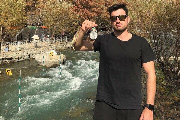 Martin Stanovský získal v Iráne striebornú medailu.