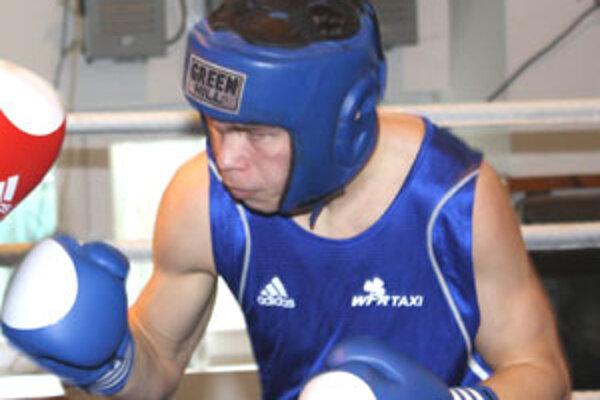 Tomáš Zold sa predstavil v kategórii staršieho dorastu do 69 kg.