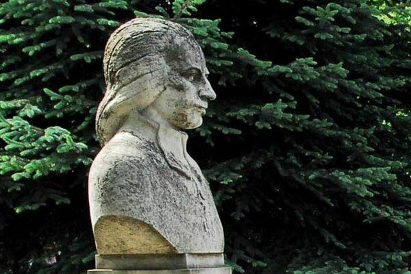 Busta Samuela Tešedíka.