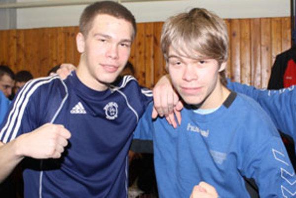 Úspešní bratia Zoldovci - Tomáš (vľavo) a David.