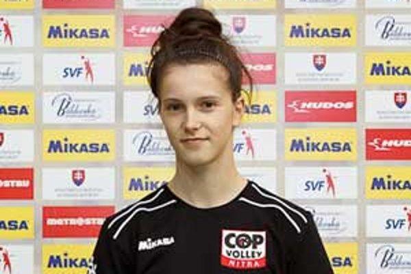 Pätnásťročná Patrícia Sihelská je odchovankyňou MVK Poltár.