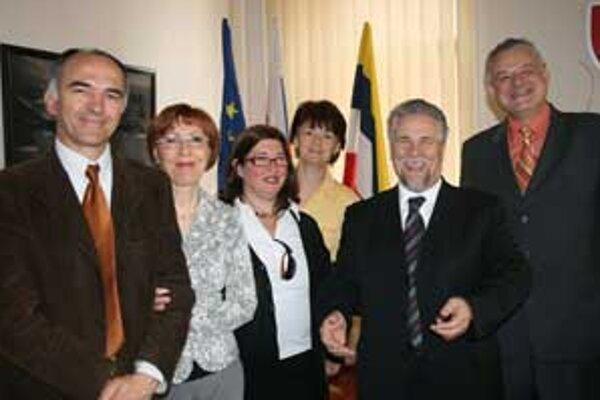 Dní mesta si prišli pozrieť i hostia z Talianska, ktorých privítal na radnici primátor Michal Bagačka.