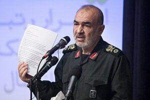 Veliteľ iránskych revolučných gárd Hossejn Salámi.