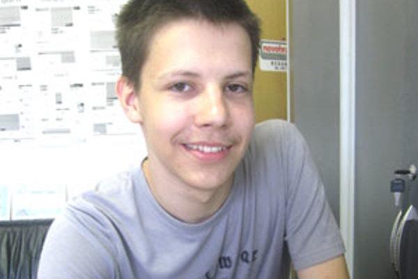 Michal Anderle patrí medzi najlepších študentov základných a stredných škôl v Lučenci.