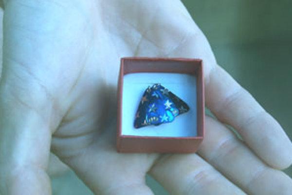 Radoslav Mojžišv vyrába originálne šperky.