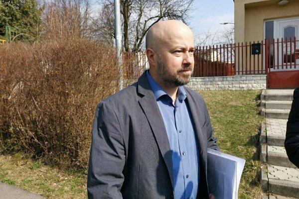 Roman Garaj, šéf petičného výboru, bojuje za zachovanie škôlky.