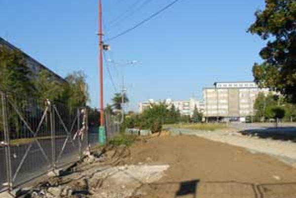 Námestie sa začalo rekonštruovať v júli minulého roku.