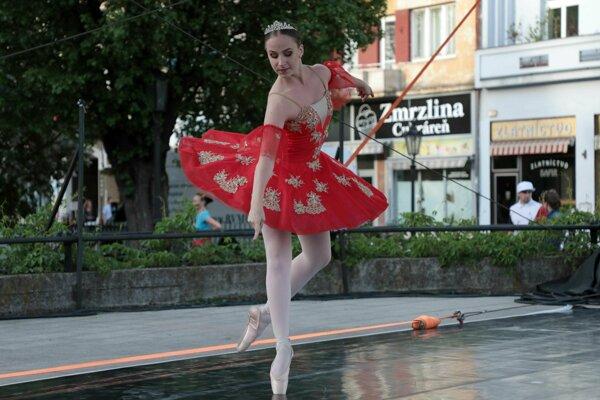 Tanec v meste 2018