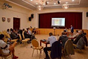 Diskusné fórum k participatívnemu rozpočtu v Rožňave.