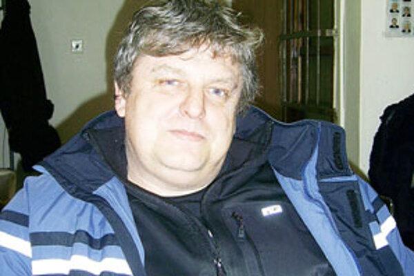 Róbert Kováč predseda ŠK Veľké Zlievce.