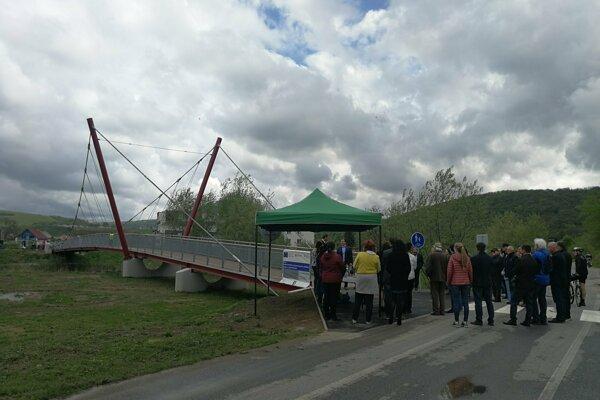 Lávky sú súčasťou medzinárodného cyklistického koridoru EuroVelo 11.