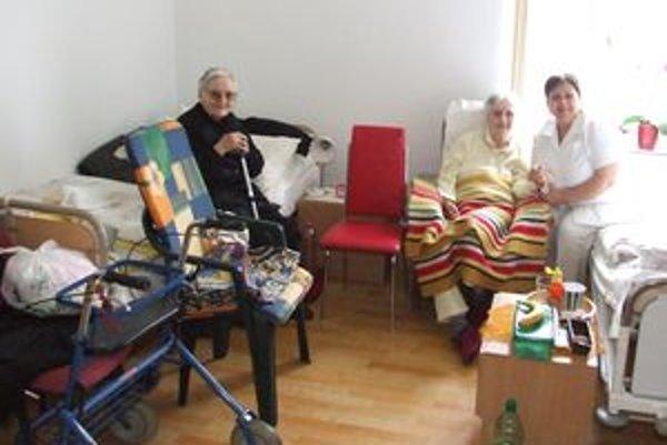 V domove sociálnych služieb v Chanave dnes žije 28 seniorov.