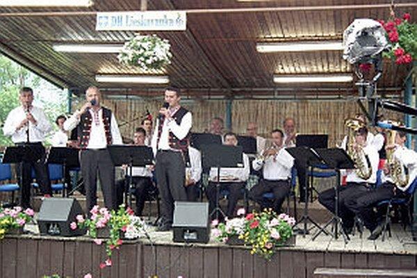 Lieskovanka počas Dychfestu.