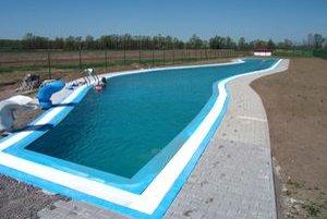 Kúpalisko bude mať tri bazény netypického tvaru s 38-stupňovov vodou.