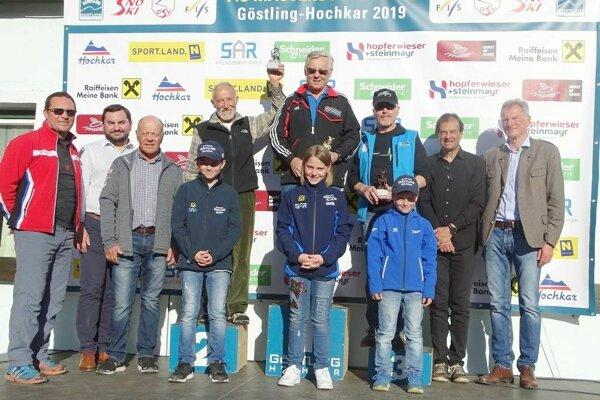 Hofbauer na stupni pre víťazov vo finále Svetového pohára v Gostling-Hochkar.