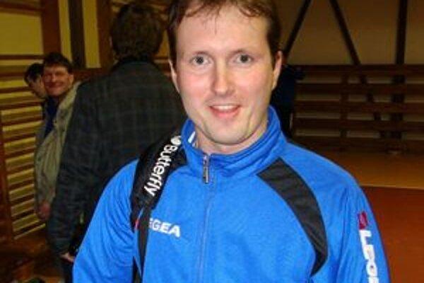 Kouč Jaroslav Adámek bol po zápase v Rožňave sklamaný.