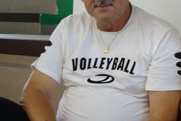 Jaroslav Štrba, tréner MVK Poltár.