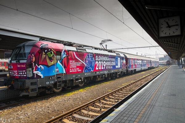 Špeciálny IC vlak Macejko.