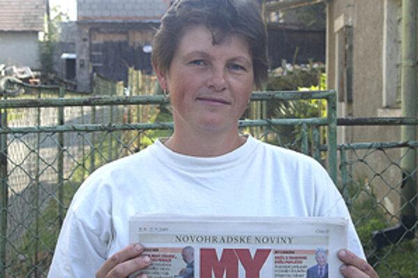 """Danuša Semeráková hovorí: """"Noviny sú takto dobré a ani ich nemeňte."""""""