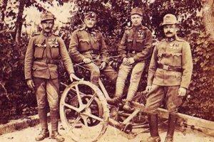 Kálnickí vojaci bojovali v1. svetovej vojne.
