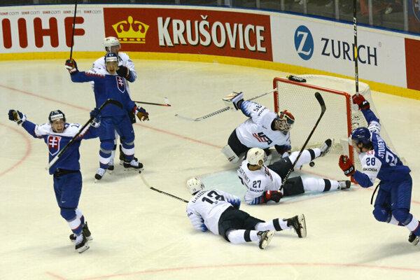 Slováci pokračujú na MS v rýchlom slede, po USA ich v sobotu večer čaká Fínsko.