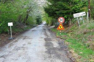 Cesta k jednej z najvyhľadávanejších jaskýň na Gemeri.