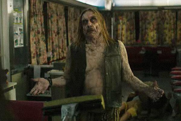 Iggy Popp ako mŕtvy nemŕtvy v novom filme Jima Jarmuscha.