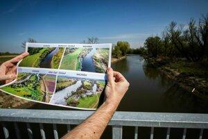 Dôvodom na reguláciu toku boli protipovodňové opatrenia aj získanie nového územia.