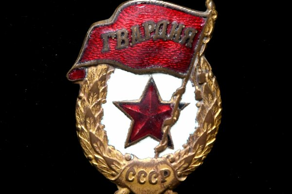 Odznak gardových jednotiek