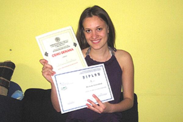 Michaela Horváthovábola úspešná na celoštátnom kole Stredoškolskej odbornej činnosti.