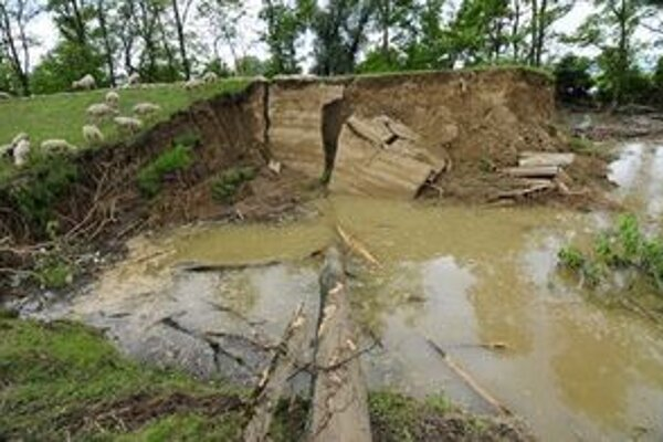 Pôda je natoľko rozmočená, že lesníci nemôžu zasahovať. Ak bude ďalej pršať, lesy prídu o ďalšie peniaze.