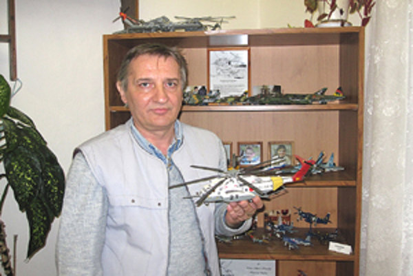 Igor Filipiak založil v Rimavskej Sobote Klub plastikových modelárov.