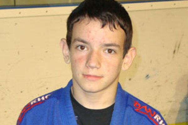 Patrik Boršoš dominoval vo váhe do 40 kg medzi mladšími žiakmi.